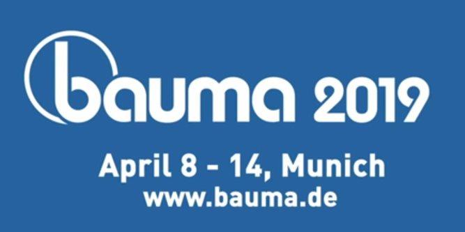 Bauma 2019 (Munich, 8th-14th April 2019)