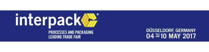 Interpack 2017 (Dusseldorf, 4th-10th May 2017)