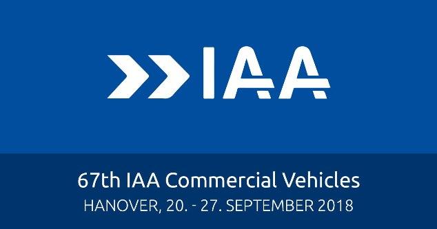 IAA Commercial Vehicles 2018 (Hanover, 20th-27th September 2018)