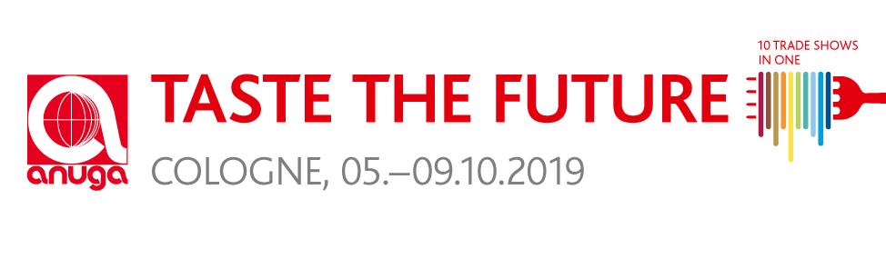 Anuga 2019 (Cologne, 5th-9th October 2019)