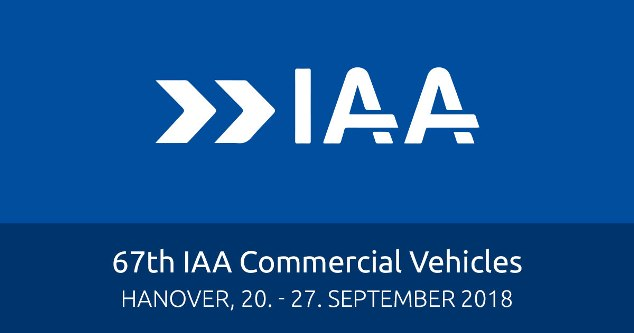 IAA Commercial Vehicles 2018 (Hanover, 20th-27th September 2018)