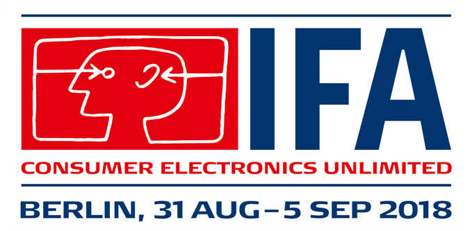 IFA 2018 (Berlin, 31st August - 5th September 2018)