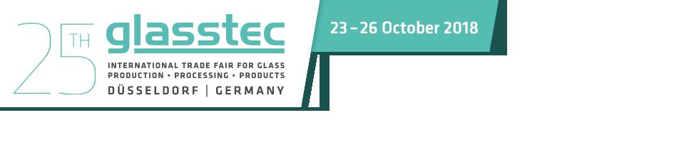 glasstec 2018 (Dusseldorf, 23rd-26th October 2018)